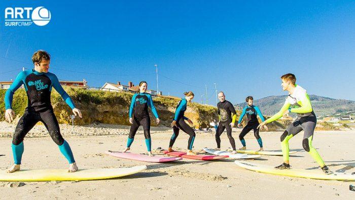 urlaub surfen lernen